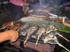 Barbecue Fish - Phousy Market - Luang Prabang
