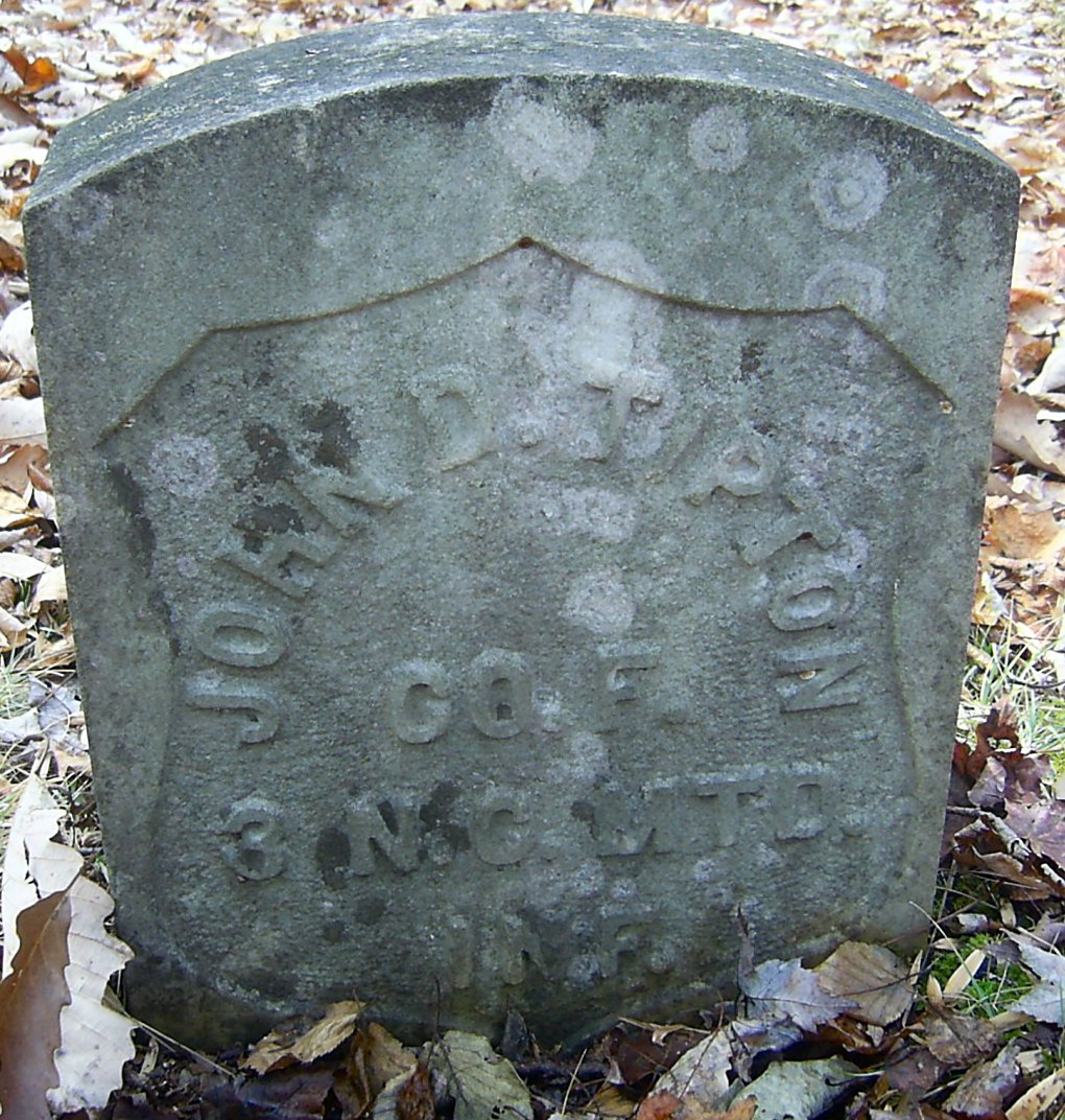 Tombstone in Lost Cove