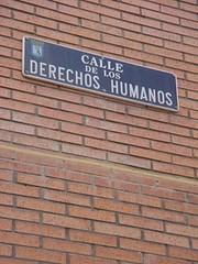 calle derechos humanos
