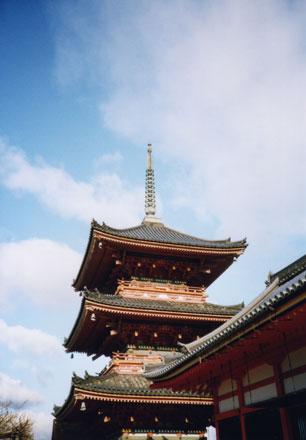 清水寺・三重塔