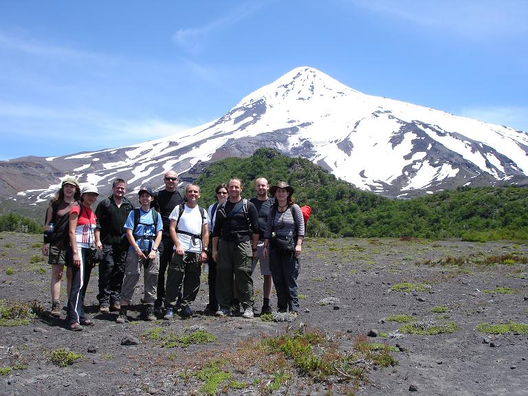 Group at Volcano