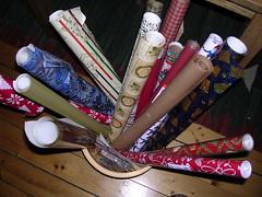 Julklappspapper liten