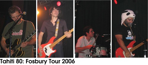 Tahiti 80 - Fosbury Tour 2006