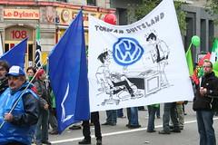 Betoging Volkswagen