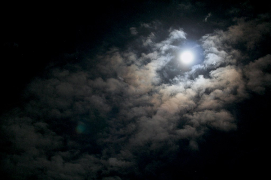 moon and clouds ©2006 RosebudPenfold