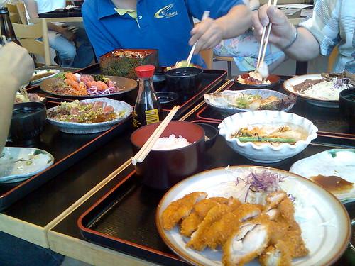 matsuri-dinner-spread