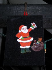 Santa on Velvet