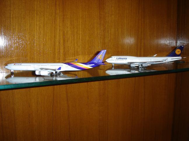 10 Thai 340 Lufthansa 747