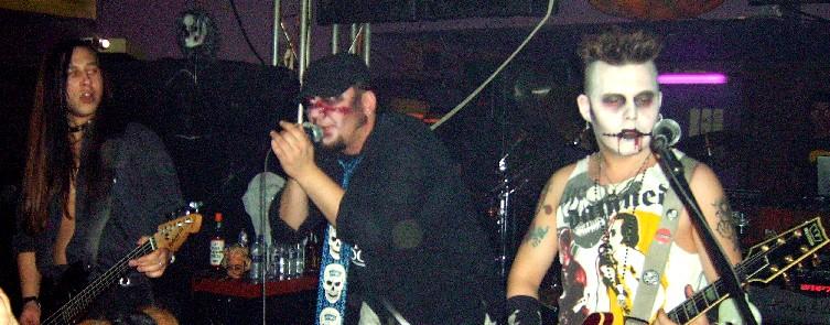 MIGUEL AND THE LIVING DEAD + LA PESTE NEGRA, 31 de  octubre de 2006, Sala Y'Asta, Madrid