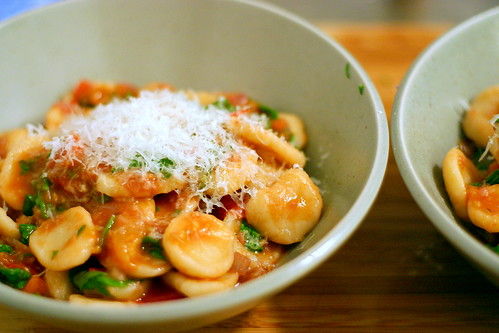 Orecchiette With Slow Roasted Tomatoes & Artichokes Recipe ...