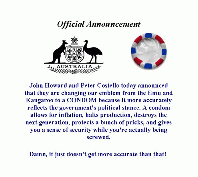 New Australian Coat of Arms