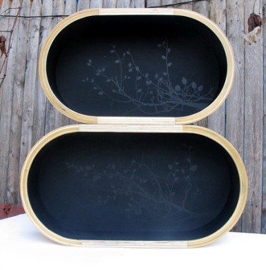 Cubby Tray Black